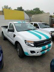 2014 Ford Ranger PX XL 4x2 White 6 Speed Manual Utility
