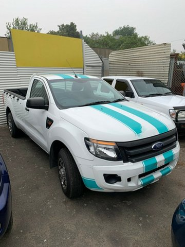 Used Ford Ranger PX XL 4x2, 2014 Ford Ranger PX XL 4x2 White 6 Speed Manual Utility