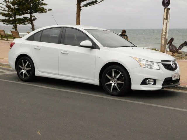 Used Holden Cruze JH Series II MY14 SRi, 2014 Holden Cruze JH Series II MY14 SRi White 6 Speed Sports Automatic Sedan
