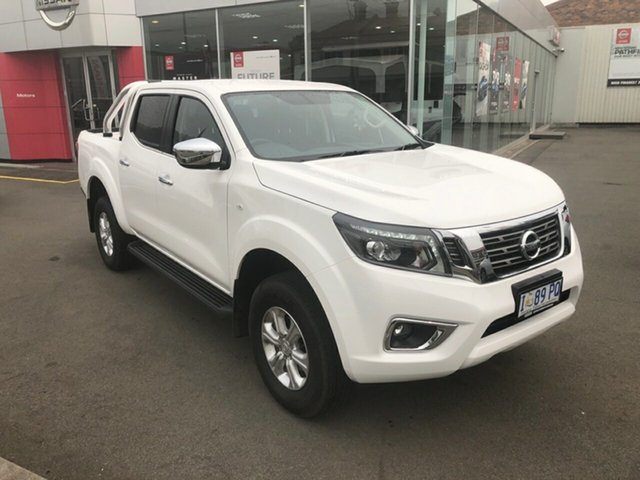 Demo Nissan Navara D23 S3 ST, 2019 Nissan Navara D23 S3 ST Polar White 6 Speed Manual Utility