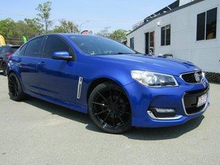 2015 Holden Commodore VF II SV6 Blue 6 Speed Automatic Sedan.