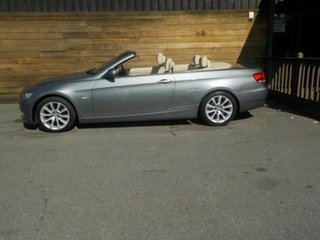 2009 BMW 3 Series E93 MY10 320d Steptronic Grey 6 Speed Sports Automatic Convertible