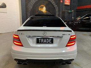 2012 Mercedes-Benz C-Class C204 MY12 C63 AMG SPEEDSHIFT MCT Performance Package White 7 Speed
