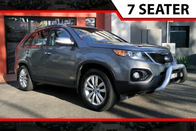 Used Kia Sorento XM MY10 SLi, 2009 Kia Sorento XM MY10 SLi Grey 6 Speed Sports Automatic Wagon