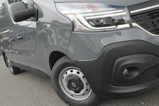 2021 Renault Trafic X82 MY21 Premium Low Roof LWB EDC 125kW Jet Black 6 Speed.
