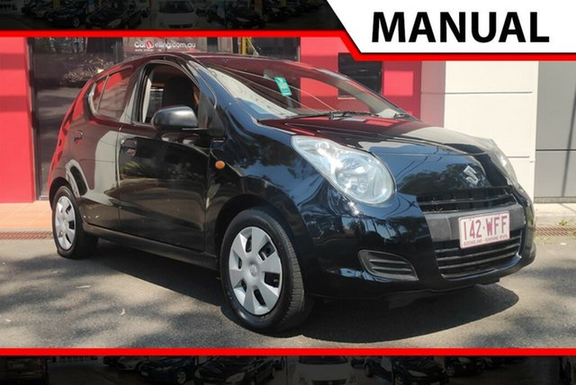 Used Suzuki Alto GF GL, 2010 Suzuki Alto GF GL Black 5 Speed Manual Hatchback
