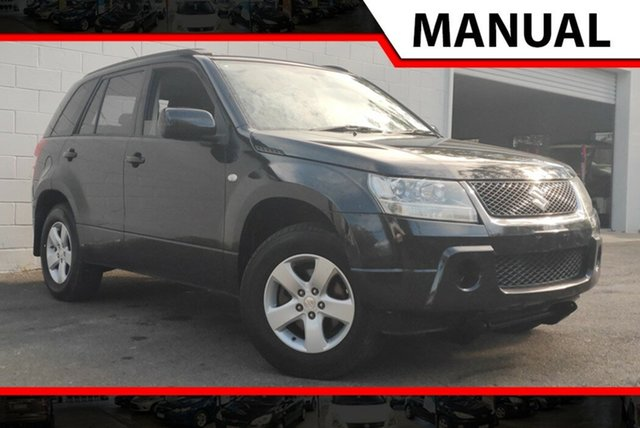 Used Suzuki Grand Vitara JB Type 2 , 2007 Suzuki Grand Vitara JB Type 2 Black 5 Speed Manual Wagon