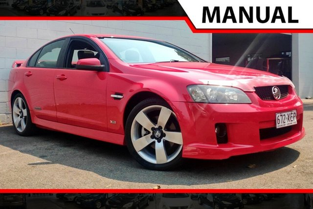 Used Holden Commodore VE SS V, 2006 Holden Commodore VE SS V Red 6 Speed Manual Sedan