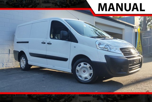 Used Fiat Scudo  Low Roof LWB, 2012 Fiat Scudo Low Roof LWB White 6 Speed Manual Van