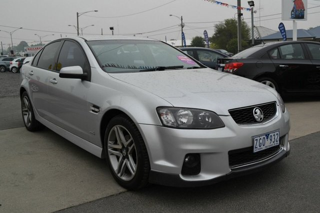 Used Holden Commodore VE II MY12 SV6, 2012 Holden Commodore VE II MY12 SV6 Silver 6 Speed Automatic Sedan
