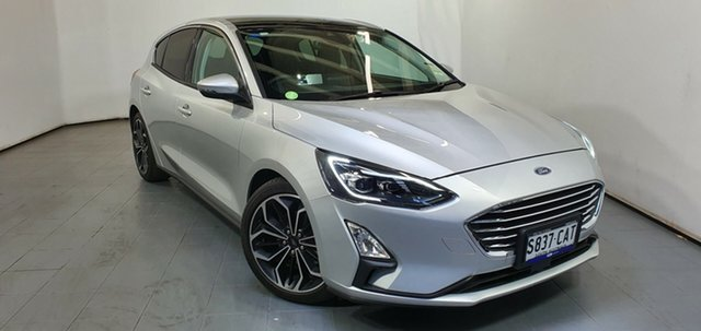 Used Ford Focus SA 2019MY Titanium, 2018 Ford Focus SA 2019MY Titanium Silver 8 Speed Automatic Hatchback