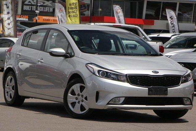 Used Kia Cerato BD MY19 S, 2018 Kia Cerato BD MY19 S Silver 6 Speed Sports Automatic Hatchback