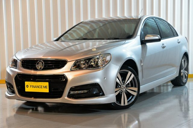 Used Holden Commodore VF MY14 SV6, 2013 Holden Commodore VF MY14 SV6 Silver 6 Speed Sports Automatic Sedan