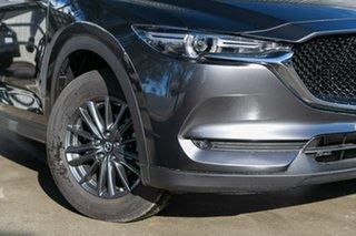 2019 Mazda CX-5 KF2W7A Maxx SKYACTIV-Drive FWD Sport Machine Grey 6 Speed Sports Automatic Wagon.