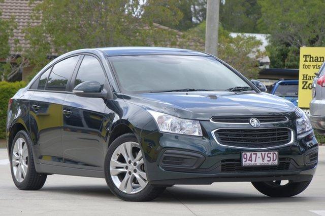 Used Holden Cruze JH Series II MY15 Equipe, 2015 Holden Cruze JH Series II MY15 Equipe Green 6 Speed Sports Automatic Sedan