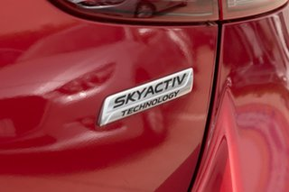 2015 Mazda 2 DJ2HAA Maxx SKYACTIV-Drive Red 6 Speed Sports Automatic Hatchback