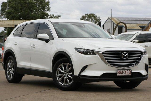 Used Mazda CX-9 TC Touring SKYACTIV-Drive, 2017 Mazda CX-9 TC Touring SKYACTIV-Drive White 6 Speed Sports Automatic Wagon