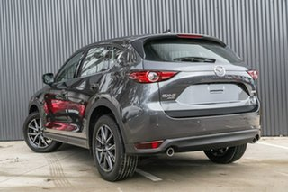 2019 Mazda CX-5 KF4WLA GT SKYACTIV-Drive i-ACTIV AWD Machine Grey 6 Speed Sports Automatic Wagon