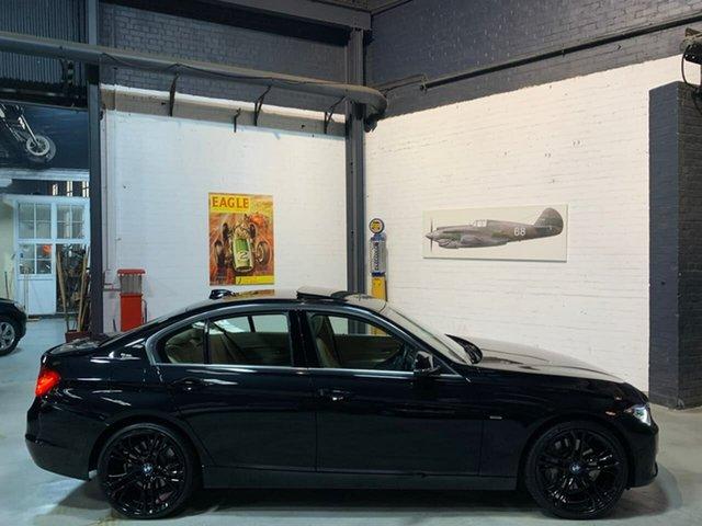 Used BMW 335i F30 MY0812 335i, 2012 BMW 335i F30 MY0812 335i Black 8 Speed Sports Automatic Sedan