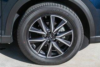 2019 Mazda CX-5 KF4WLA GT SKYACTIV-Drive i-ACTIV AWD Deep Crystal Blue 6 Speed Sports Automatic