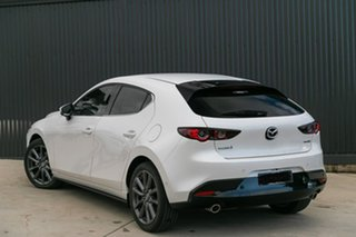 2019 Mazda 3 BP2HL6 G25 SKYACTIV-MT GT Snowflake White Pearl 6 Speed Manual Hatchback