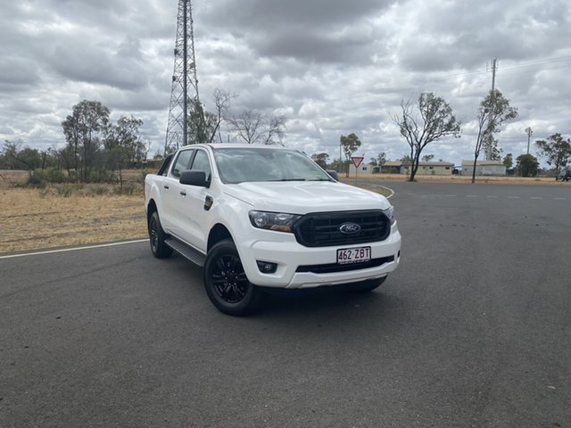 Demo Ford Ranger PX MkIII 2019.75MY XLS Pick-up Double Cab, 2019 Ford Ranger PX MkIII 2019.75MY XLS Pick-up Double Cab Arctic White 6 Speed Sports Automatic