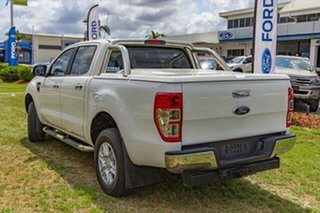 2013 Ford Ranger PX XLT Double Cab Cool White 6 Speed Sports Automatic Utility