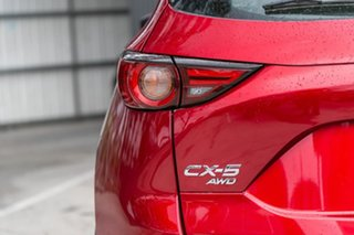 2019 Mazda CX-5 KF4WLA Touring SKYACTIV-Drive i-ACTIV AWD Soul Red Crystal 6 Speed Sports Automatic
