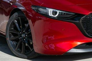 2019 Mazda 3 BP2HLA G25 SKYACTIV-Drive Astina Soul Red Crystal 6 Speed Sports Automatic Hatchback.