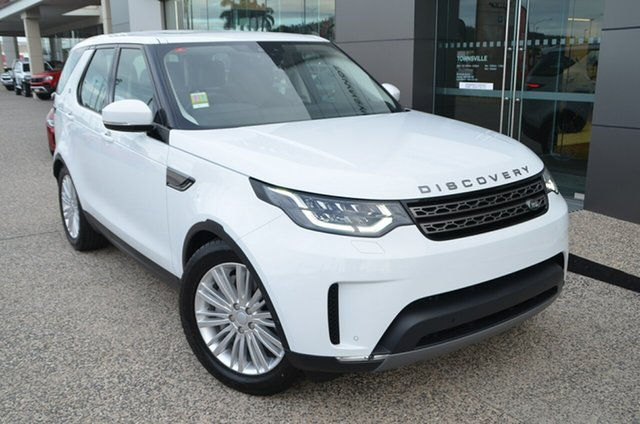 Demo Land Rover Discovery Series 5 L462 MY19 SD6 SE, 2019 Land Rover Discovery Series 5 L462 MY19 SD6 SE Fuji White 8 Speed Sports Automatic Wagon