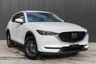 2019 Mazda CX-5 KF2W7A Maxx SKYACTIV-Drive FWD Sport Snowflake White Pearl 6 Speed Sports Automatic.