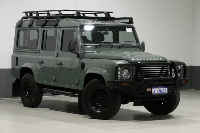Used Land Rover Defender MY15 110 (4x4), 2015 Land Rover Defender MY15 110 (4x4) Green 6 Speed Manual Wagon