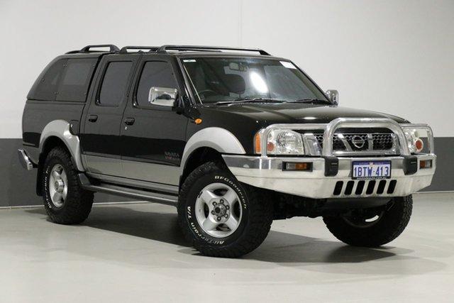 Used Nissan Navara D22 ST-R (4x4), 2004 Nissan Navara D22 ST-R (4x4) Black 5 Speed Manual Dual Cab Pick-up