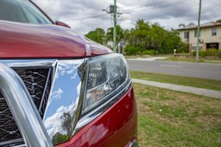 2016 Nissan Pathfinder R52 Series II MY17 Ti X-tronic 4WD Cayenne Red 1 Speed Constant Variable.