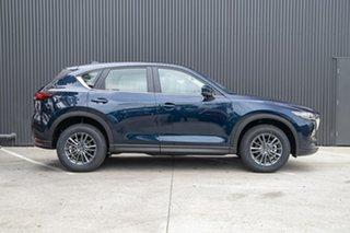2019 Mazda CX-5 KF2W7A Maxx SKYACTIV-Drive FWD Sport Deep Crystal Blue 6 Speed Sports Automatic.