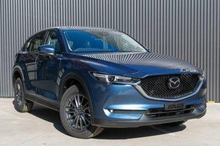 2019 Mazda CX-5 KF2W7A Maxx SKYACTIV-Drive FWD Sport Eternal Blue 6 Speed Sports Automatic Wagon.