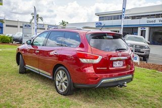 2016 Nissan Pathfinder R52 Series II MY17 Ti X-tronic 4WD Cayenne Red 1 Speed Constant Variable