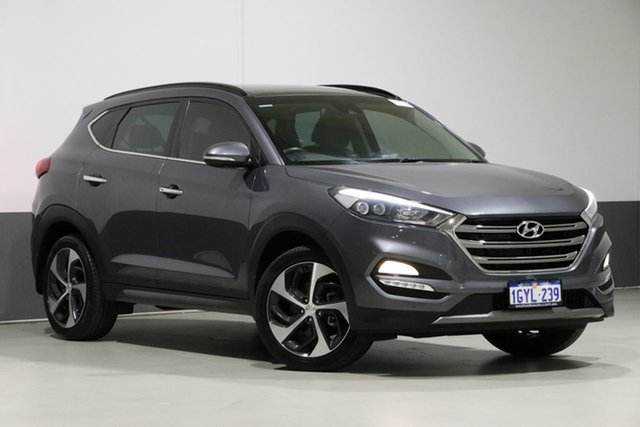 Used Hyundai Tucson TLE Highlander (AWD), 2015 Hyundai Tucson TLE Highlander (AWD) Grey 7 Speed Auto Dual Clutch Wagon