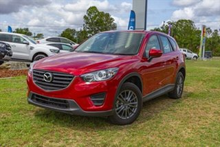 2017 Mazda CX-5 KE1072 Maxx SKYACTIV-Drive FWD Red 6 Speed Sports Automatic Wagon.