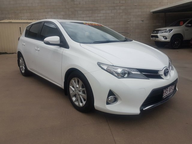Used Toyota Corolla ZRE182R Ascent Sport, 2014 Toyota Corolla ZRE182R Ascent Sport White 6 Speed Manual Hatchback