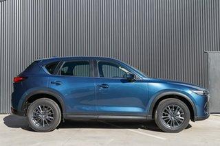 2019 Mazda CX-5 KF2W7A Maxx SKYACTIV-Drive FWD Sport Eternal Blue 6 Speed Sports Automatic Wagon