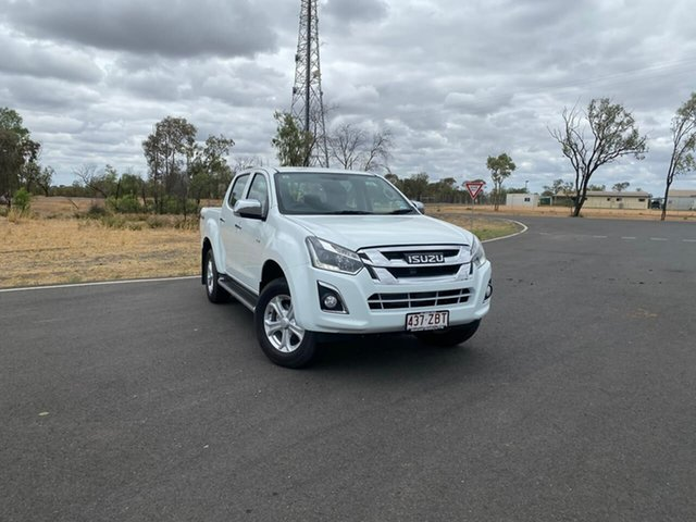Demo Isuzu D-MAX MY18 LS-U Crew Cab, 2018 Isuzu D-MAX MY18 LS-U Crew Cab Splash White 6 Speed Sports Automatic Utility