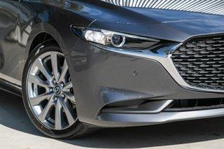 2019 Mazda 3 BP2SLA G25 SKYACTIV-Drive Evolve Machine Grey 6 Speed Sports Automatic Sedan.