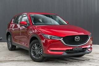2019 Mazda CX-5 KF4WLA Touring SKYACTIV-Drive i-ACTIV AWD Soul Red Crystal 6 Speed Sports Automatic.