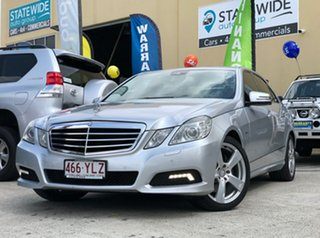 2009 Mercedes-Benz E250 212 CDI Avantgarde Silver 5 Speed Automatic Sedan.