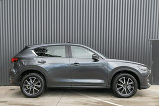 2019 Mazda CX-5 KF4WLA GT SKYACTIV-Drive i-ACTIV AWD Machine Grey 6 Speed Sports Automatic Wagon.