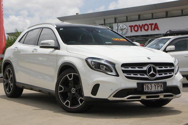 Used Mercedes-Benz GLA-Class X156 808+058MY GLA250 DCT 4MATIC, 2018 Mercedes-Benz GLA-Class X156 808+058MY GLA250 DCT 4MATIC White 7 Speed