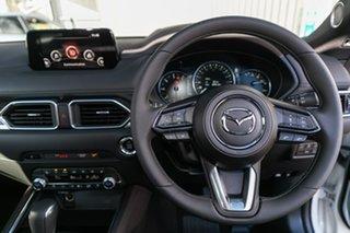 2019 Mazda CX-5 KF4WLA Akera SKYACTIV-Drive i-ACTIV AWD Snowflake White Pearl 6 Speed