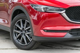 2019 Mazda CX-5 KF4WLA GT SKYACTIV-Drive i-ACTIV AWD Soul Red Crystal 6 Speed Sports Automatic Wagon.