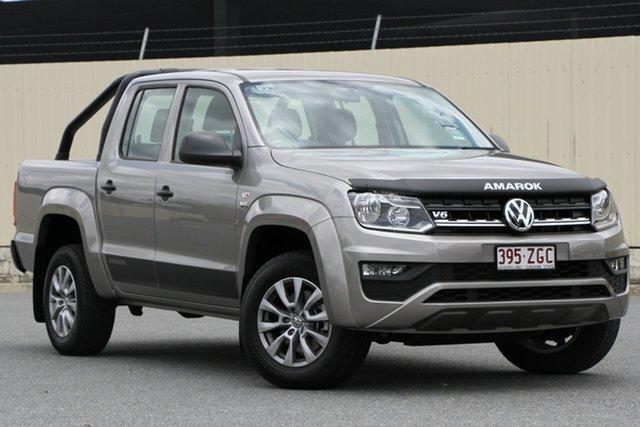 Demo Volkswagen Amarok 2H MY19 TDI550 4MOTION Perm Core, 2019 Volkswagen Amarok 2H MY19 TDI550 4MOTION Perm Core Mojave Beige 8 Speed Automatic Utility